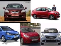 New 2016 Honda Amaze Vs Maruti Swift Dzire Vs Hyundai Xcent Vs Tata Zest Vs Ford Figo Aspire: Mileage based comparison.