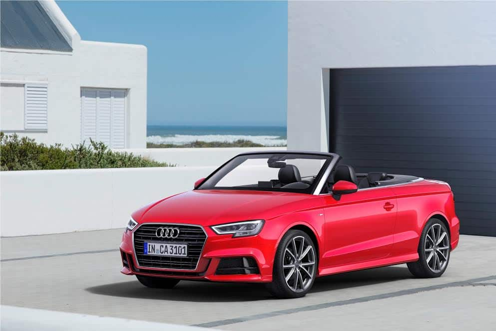2017 Audi A3 Cabriolet launched in India at INR 47.98 lakh