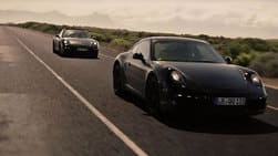 Porsche 911 2012 caught testing in South Africa