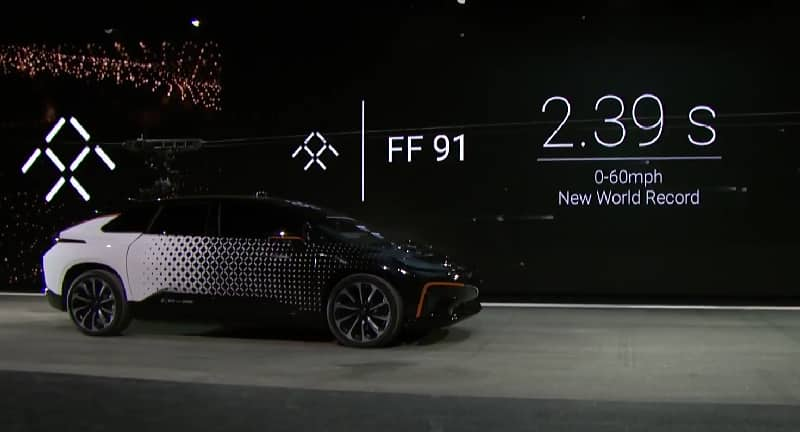 Perfect Faraday Future FF91 Worldu0027s Fastest Electric Car Revealed At CES 2017;  Bookings Open In US