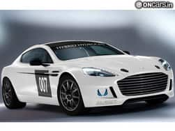 First-ever Hydrogen-powered Aston Martin Rapide S to debut at Nurburgring