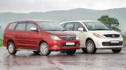 Video : Tata Aria 4×2 takes on Toyota Innova: Performance