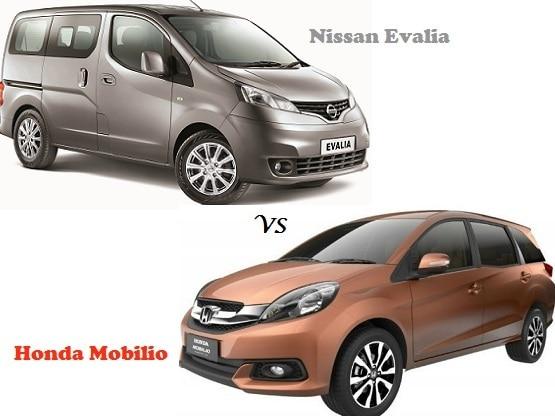 Comparison Honda Mobilio Vs Nissan Evalia: Compare Price & Technical Specifications