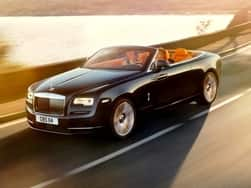 Rolls Royce Dawn Convertible Launched in India at INR 6.25 crore