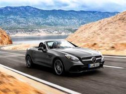 Mercedes-AMG SLC 43 launching tomorrow in India