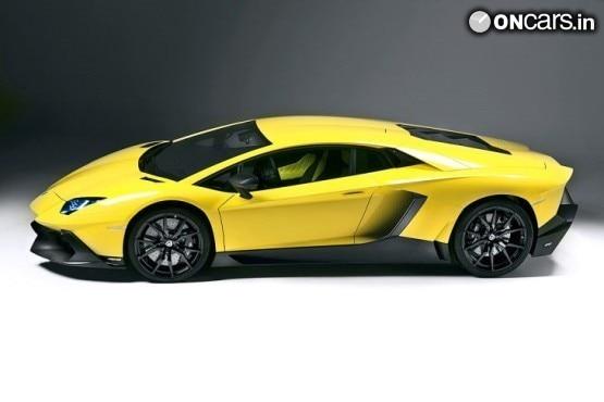 Lamborghini Aventador LP720-4 50 Anniversario images leak