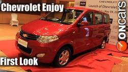 First Look : Chevrolet Enjoy