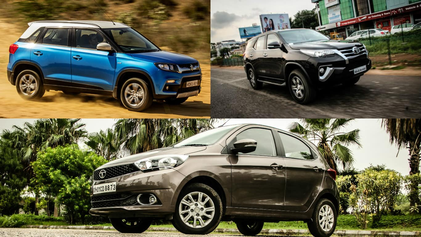 Top 5 cars to have entered into india in 2016