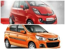 Top 5 automatic small hatchback cars in India under INR 5 Lakh