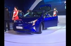 All New Toyota Prius Hybrid 2016 to be unveiled in India tomorrow