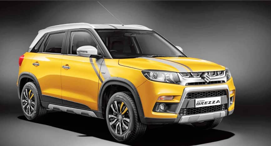 Maruti Suzuki Vitara Brezza was the 8th best-selling vehicle for the month of December 2016