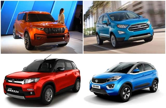 top 5 upcoming sub compact suvs to launch in india in 2017 2018 find new upcoming cars. Black Bedroom Furniture Sets. Home Design Ideas