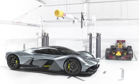 AM-RB 001: The Aston Martin and Red Bull Love Child