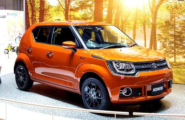 Upcoming Maruti Ignis Top end variant snapped ahead of its launch