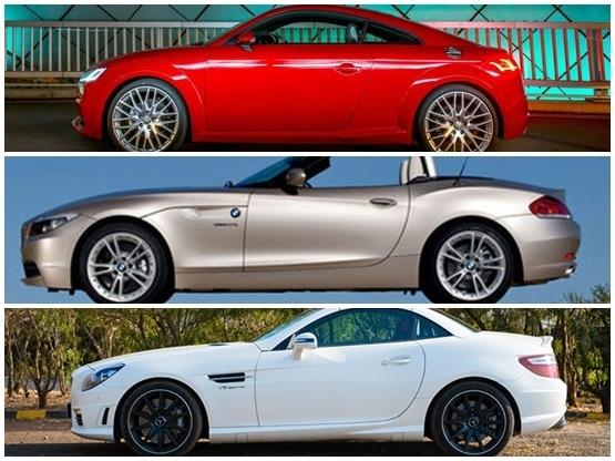 Audi 2015 Tt Coupe Vs Bmw Z4 Vs Mercedes Slk Compare