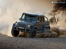Video : Video: Mercedes Benz G63 AMG 6×6 is invincibly awesome!