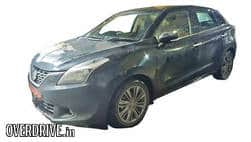 Maruti Baleno Petrol SHVS spied: Launch Likely in 2017