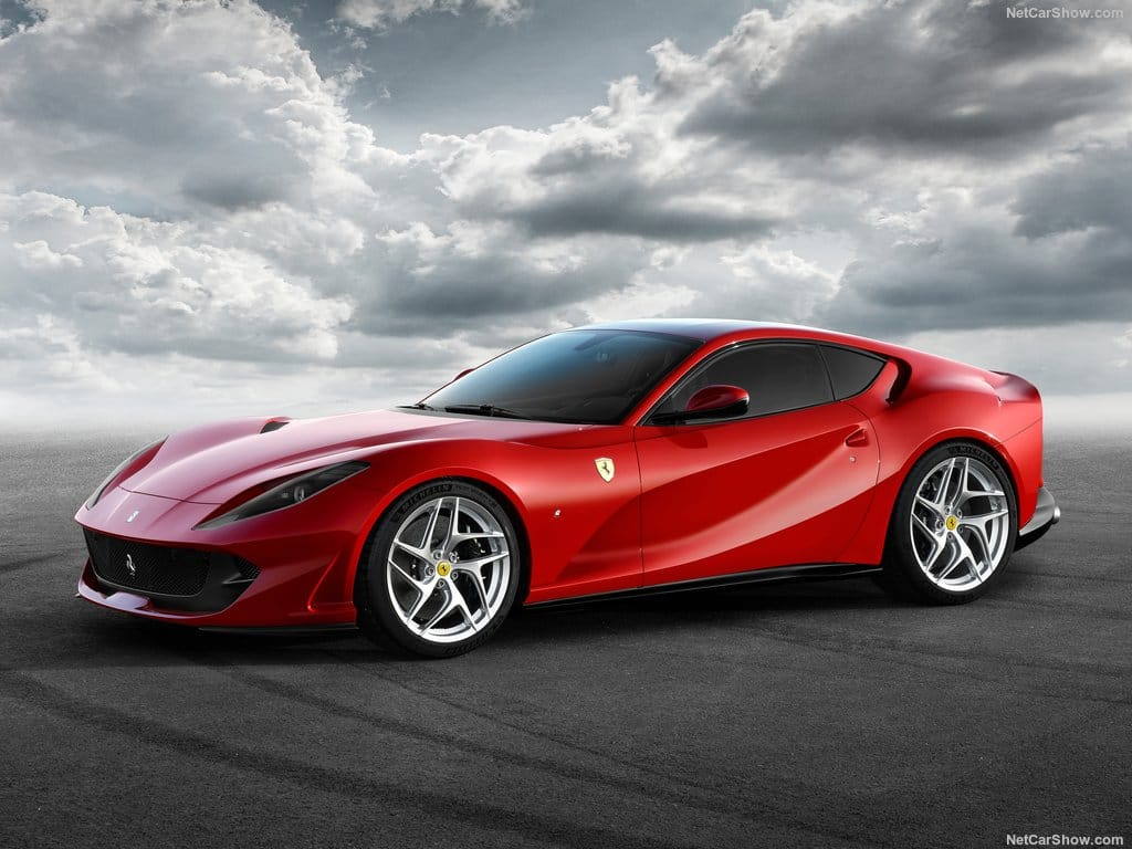 The Ferrari F12 Berlinetta has a successor and it's called the 812 Superfast