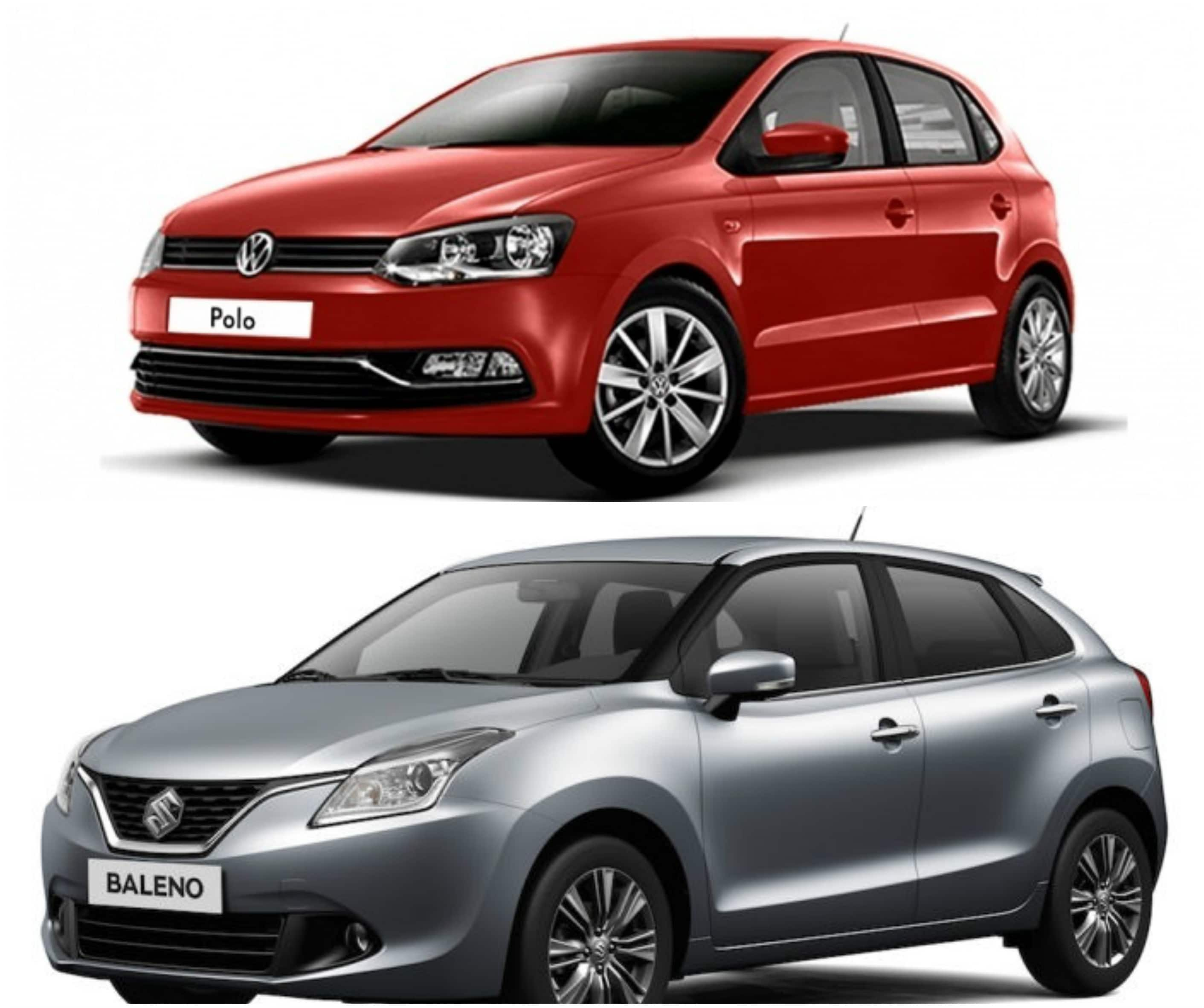 maruti suzuki baleno vs volkswagen polo price specification and features find new upcoming. Black Bedroom Furniture Sets. Home Design Ideas