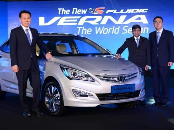 Hyundai Verna 2015 Launched Price In India Starts From INR 773 Lakhs For The