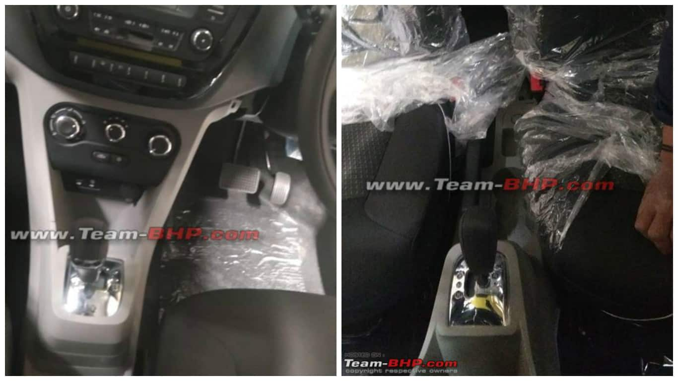 Tata Tiago AMT interior pictures emerge once again