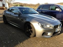 Scoop: Competition Package equipped 2014 BMW M6 spotted