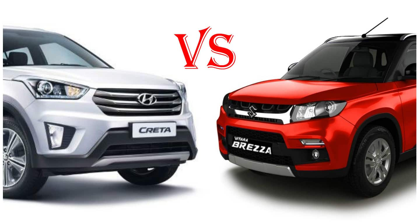 Hyundai Creta Vs Maruti Vitara Brezza Which One Is Better