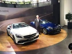 Mercedes-AMG SLC 43 roadster launching today in India: Price, Specifications