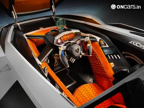 """Lamborghini's """"selfish"""" supercar concept unveiled in Italy"""