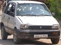 1997 Maruti 800 was the car used by Terrorist in Gurdaspur, Punjab Attack