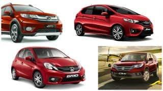 Discount on Honda Cars – Year End Offers & Benefits up to INR 1.5 Lakh on City, CR-V, BR-V, Jazz & Others