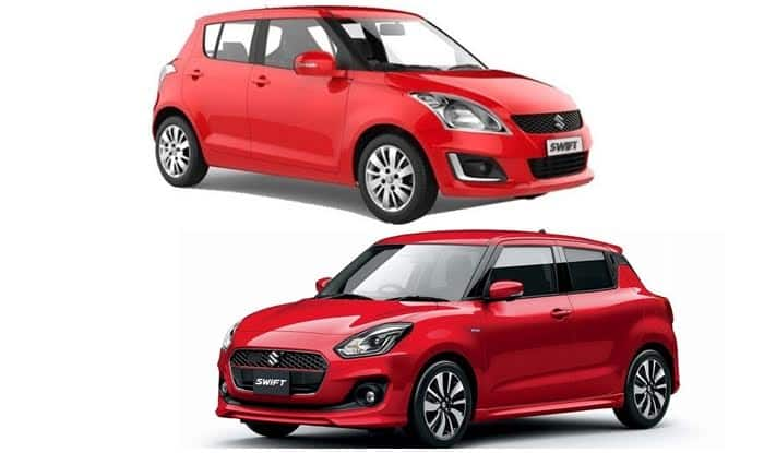 Maruti Suzuki Swift 2018 – New vs Old Comparison; Design, Features, Images, Specifications
