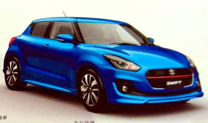 maruti suzuki swift 2017 to be revealed on 27th december in japan find new upcoming cars. Black Bedroom Furniture Sets. Home Design Ideas