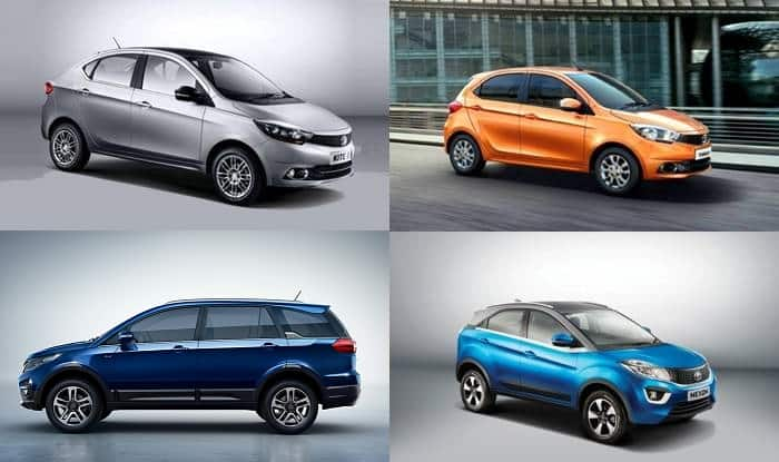 Discount on Tata Cars - Year End Offers & Benefits up to INR 1 Lakh on Safari Storme, Hexa, Tiago, Tigor & Others