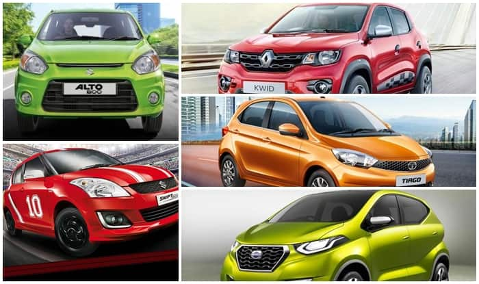 Top 5 Hatchback Cars of 2016 in India