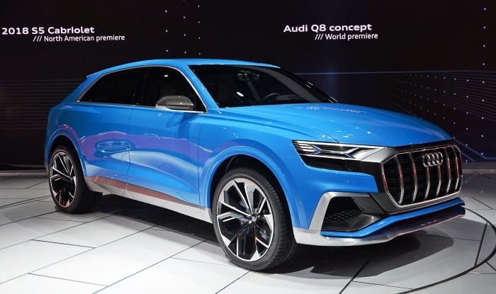Audi Q8 concept showcases in Detroit; production model to come in 2018