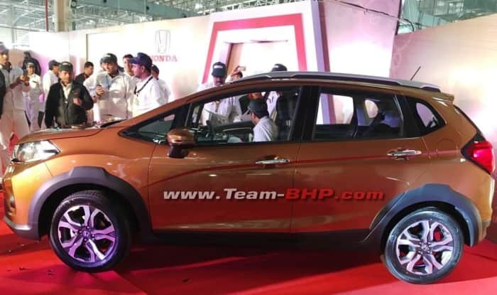 Honda WR-V production starts; launch in India in March 2017