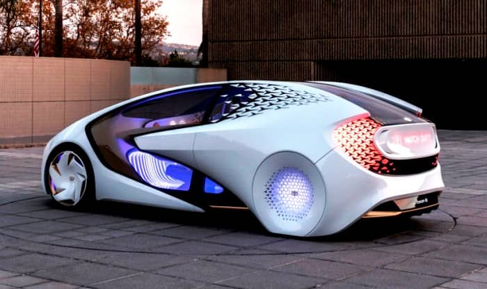 Ces 2017 Toyota Concept I With Artificial Intelligence