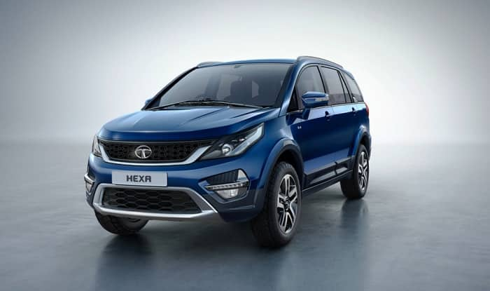 new car launches in january indiaTata Hexa bookings commenced ahead of India launch on 18 January