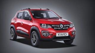 Renault KWID launched with 1.0-litre engine in RXL trim; prices start at INR 3.54 lakh