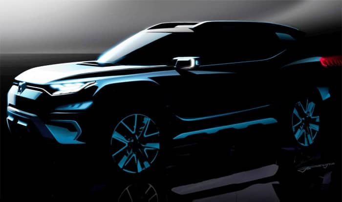 SsangYong XAVL concept teased before Geneva show debut