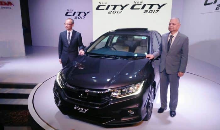 Honda City 2017 launched; price in India from INR 8.49 lakh