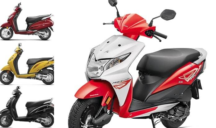 New Honda scooter to launch in India with AHO, BS IV ...