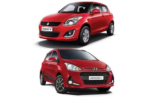 2017 Hyundai Grand i10 vs Maruti Suzuki Swift; features, specifications & price comparo