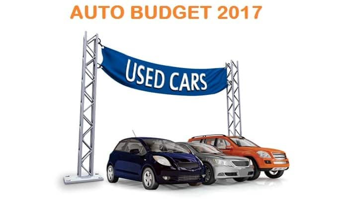 Auto Budget 2017: Union budget changes that could benefit the used car sector