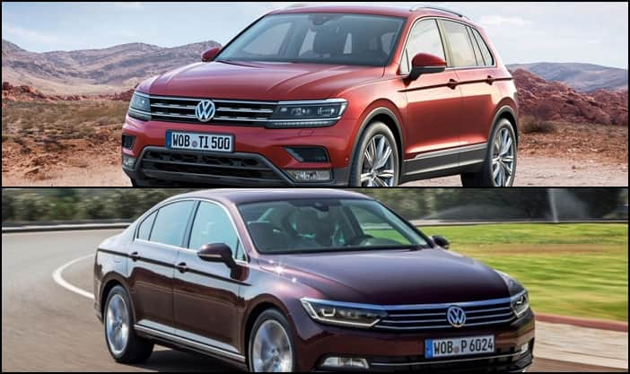 new car launches julyVolkswagen Tiguan Passat to launch in India in April July 2017