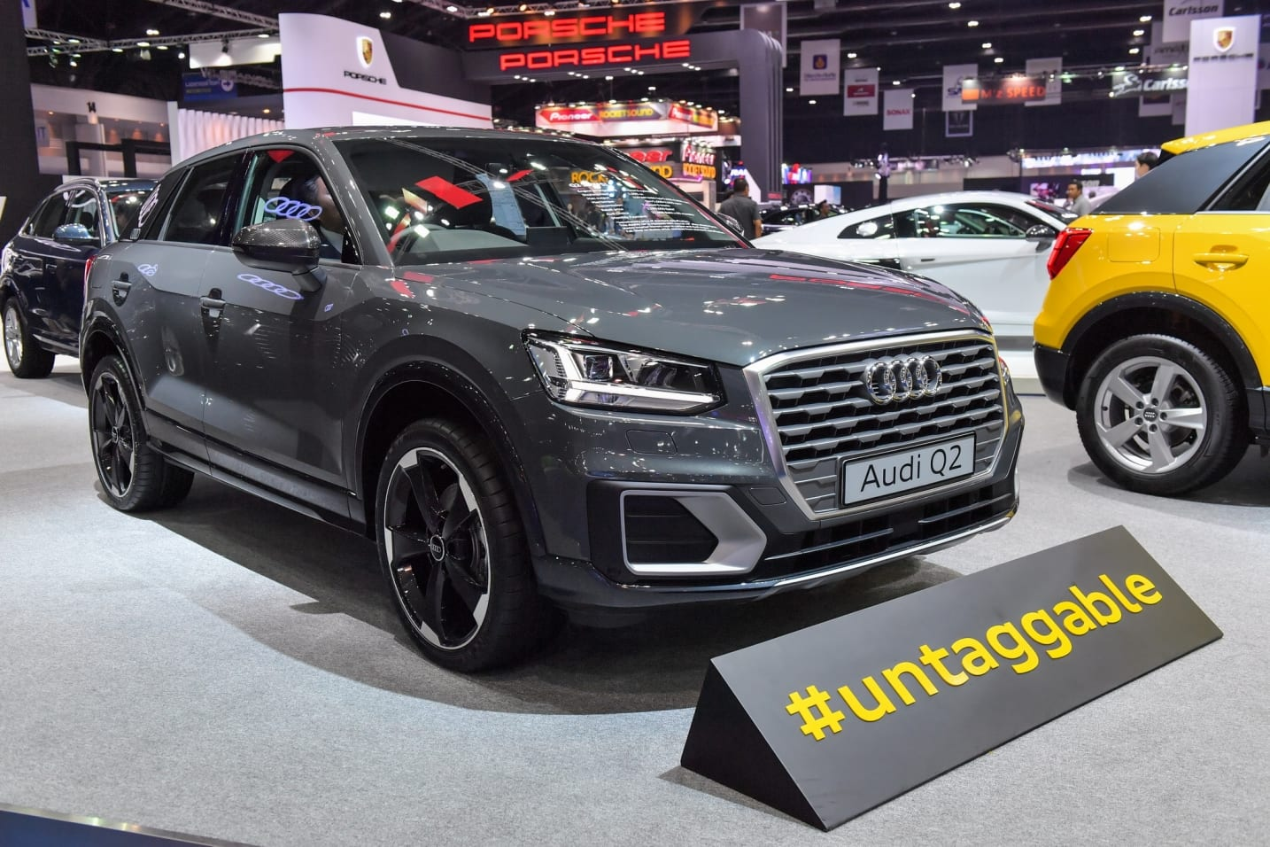 Audi Q2 India >> India bound Audi Q2 breaks cover at the 2017 Bangkok International Motor Show | Find New ...