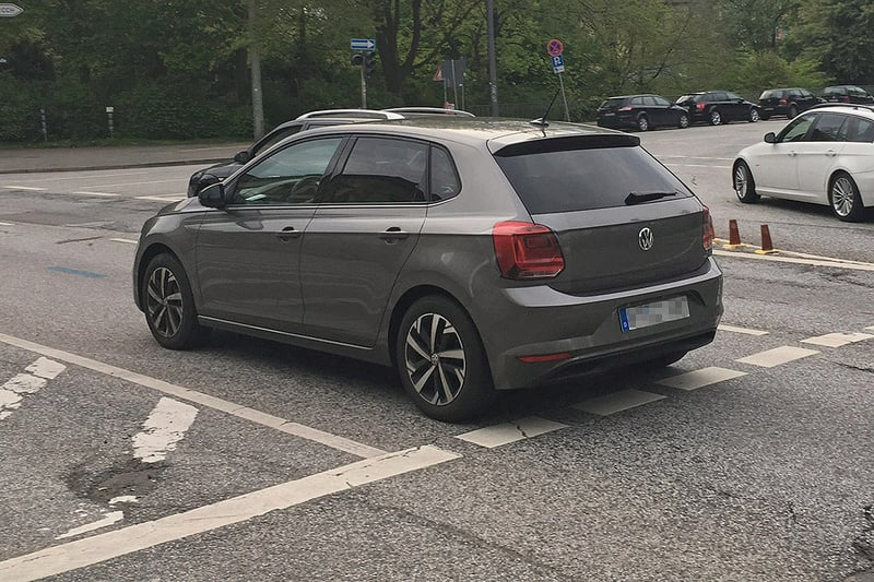 next-generation volkswagen polo spotted completely undisguised