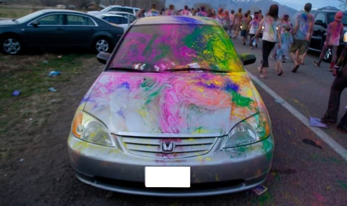 Holi 2018: Tips and Tricks to keep your car and bike away from colour stain this Holi