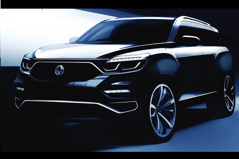 Mahindra Y400 SUV official sketches released; to debut at the 2017 Seoul Motor Show